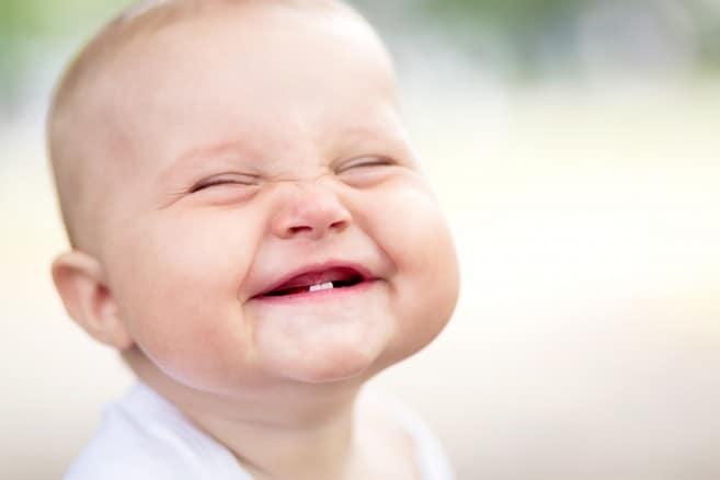 Auch mal freundlich die Zähne zeigen