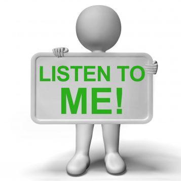 Warum Sie nur auf sich selbst hören sollten